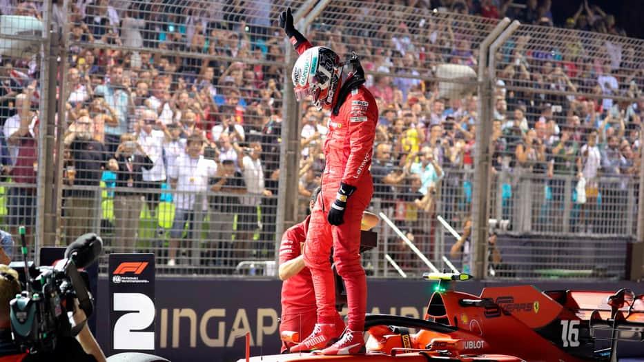 Charles Leclerc podría hacer historia para Ferrari este domingo.