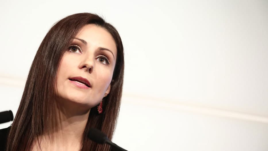 Lorena Roldán, portavoz ejecutiva de Ciudadanos