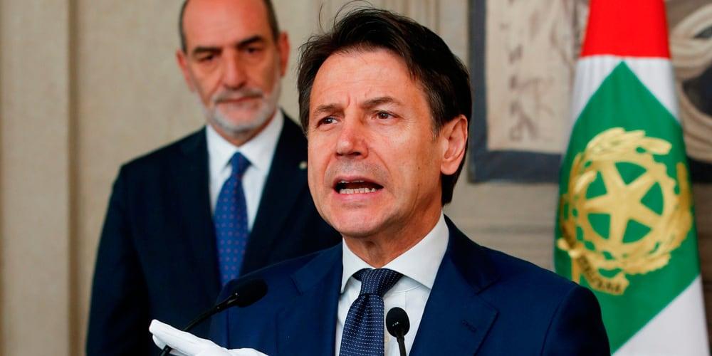 Giuseppe Conte es el abanderado para presidir el gobierno de coalición en Italia.