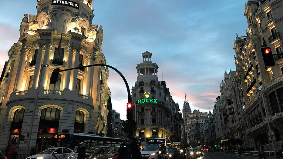 Sube la contaminación de dióxido de nitrógeno en Madrid