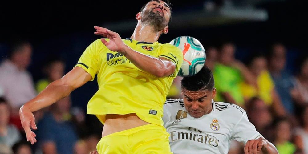 El Real Madrid no pudo con el Villareal.