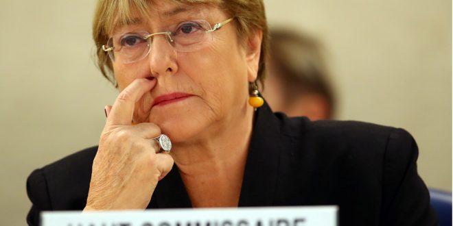 Michelle Bachelet expresó preocupación porque persiste la violación de derechos humanos en todos los órdenes, en Venezuela