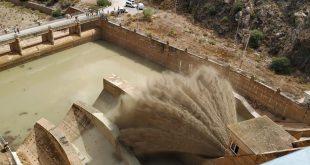 Una rotura en el dique precisa tomar las mayores precauciones entre los habitantes de Segura.