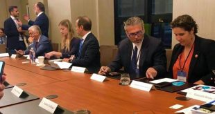 Viera Blanco participó con el equipo venezolano, en la Cumbre de Concordia Américas, en la que se debatió sobre cómo restaurar la democracia en Venezuela