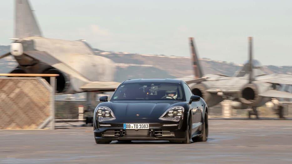 Presentación mundial del Porsche Taycan, símbolo de la sostenibilidad