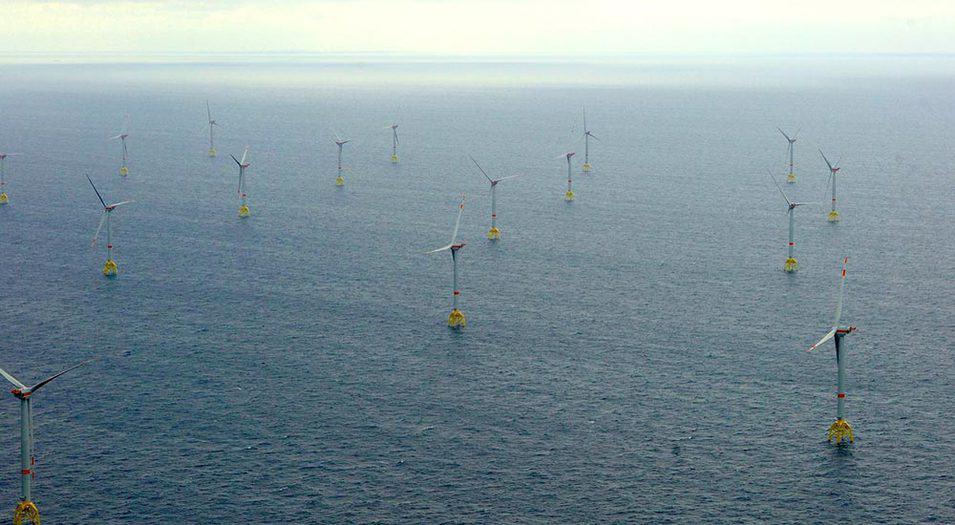 Proyecto eólico marino East Anglia One