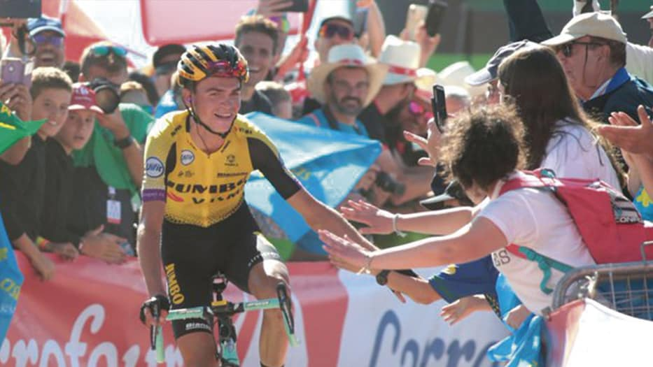 Sepp Kuss, ganador de la etapa 15 de La Vuelta/ Twitter @Lavuelta