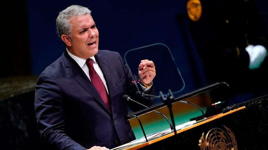 Iván Duque, presidente de Colombia, denunció que Maduro tiene nexos con el terrorismo global.
