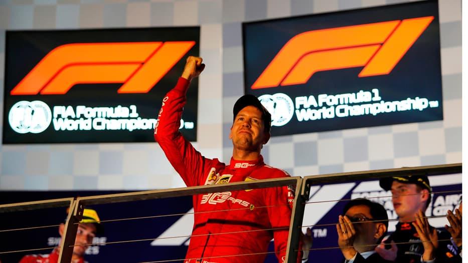 El alemán no ganaba desde el GP de Bélgica del año pasado.