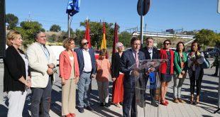 """Madrid tiene que cumplir no solo con los estándares de emisiones de la Unión Europea, sino también estar en la cabeza de la lucha contra la contaminación"""", expresó el alcalde José Luis Martínez-Almeida al presentar este lunes el inicio del plan Madrid 360."""