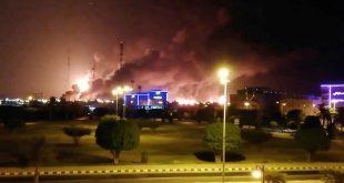 Tras los ataques con drones que se atribuyeron los rebeldes hutíes este sábado a instalaciones de la petrolera saudí Aramco, la Casa Blanca ofrece al gobierno saudí su apoyo a la defensa y el gobierno de Irán se desmarca de los acontecimientos.