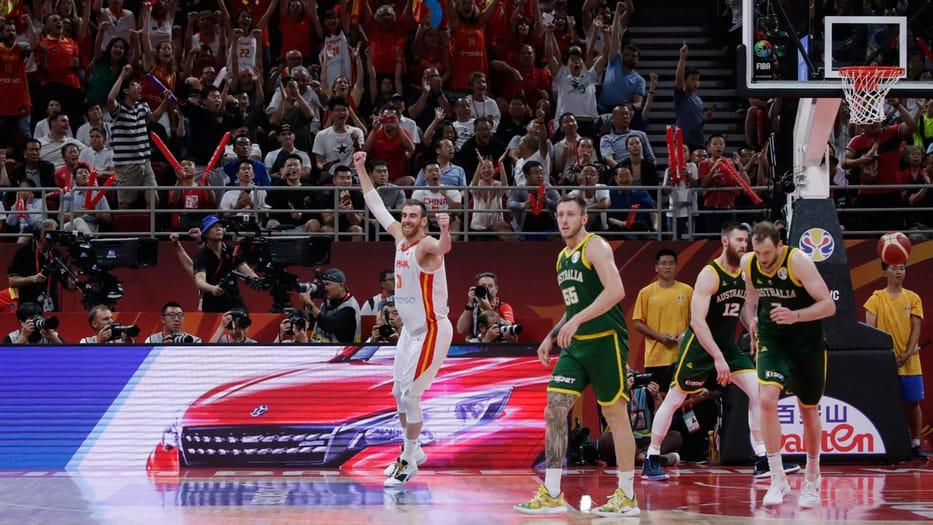 final del Mundial de Baloncesto