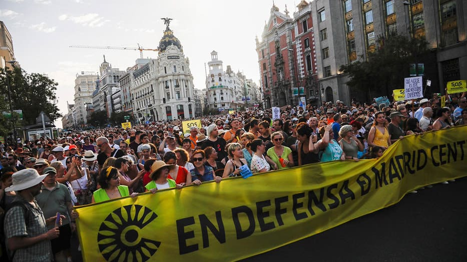 Conforme a los resultados de una encuesta de T&E, 67% de los ciudadanos europeos defienden la implantación de las zonas de bajas emisiones como ha ocurrido en Madrid Central.
