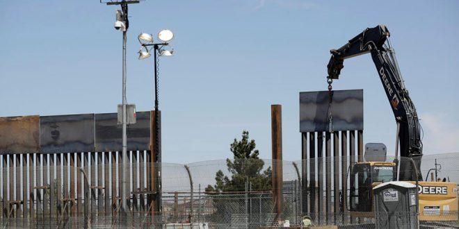 El levantamiento del muro es un ofrecimiento de Trump desde que inició su mandato en enero de 2017.