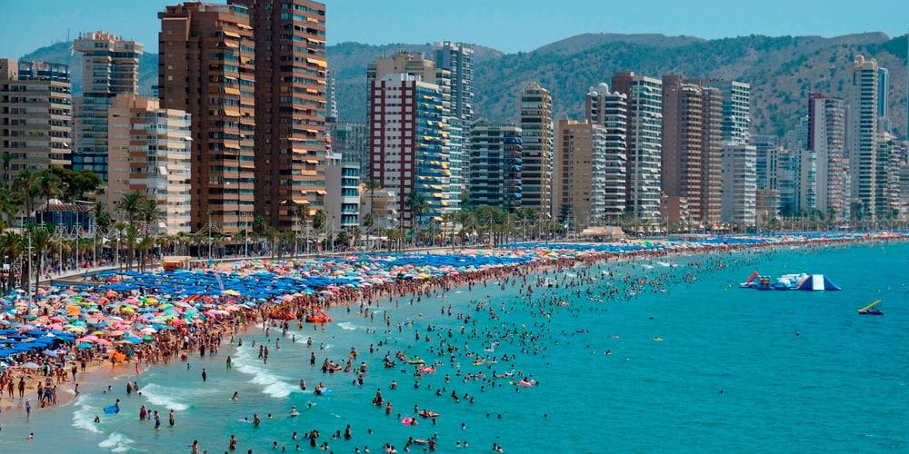 A pesar de la caída de viajeros internacionales, el gasto de turistas aumentó.