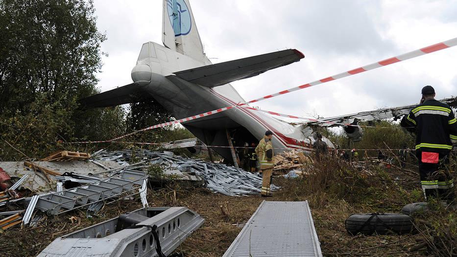 Avión AN-12 proveniente de Vigo realizó aterrizaje forzoso en Lviv, Ucrania