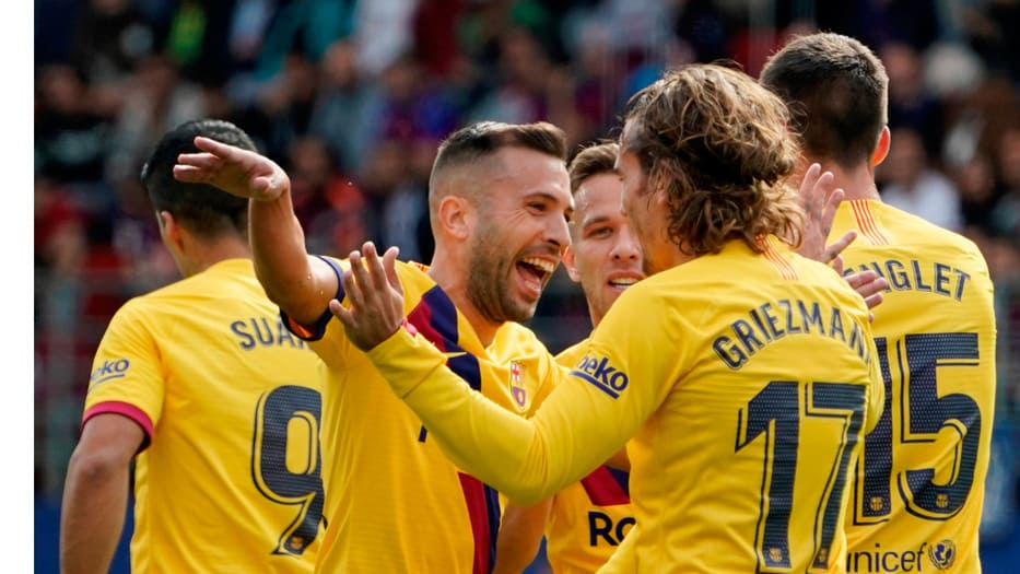 Messi, Suárez y Griezmann marcaron los tres goles del Barcelona.