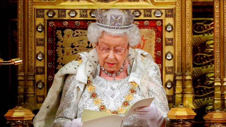 La monarca británica estableció el futuro programa de Gobierno.