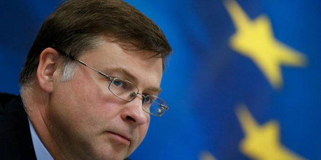 La carta enviada a la ministra española de Economía, Nadia Calviño, está suscrita por el vicepresidente económico de la CE, Valdis Dombrovskis.