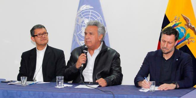 Gobierno de Ecuador deroga el Decreto 883 y finaliza el paro en el país