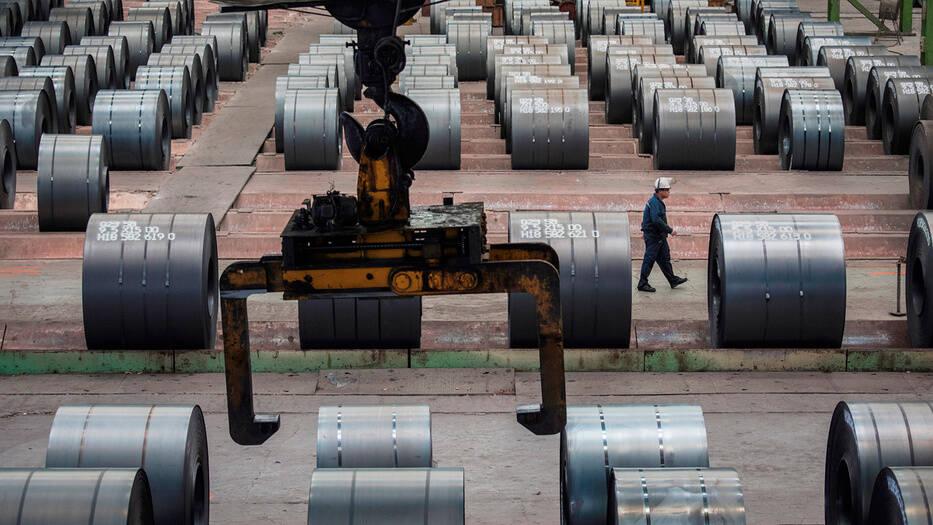 Las altas importaciones de acero chino afecta a la industria española y europea.
