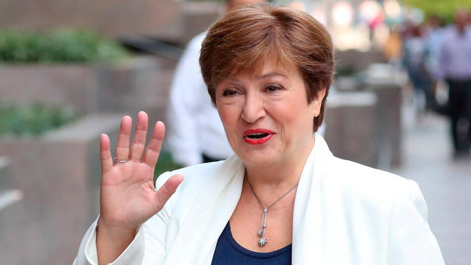Kristalina Georgieva dio su primer discurso como directora del FMI.
