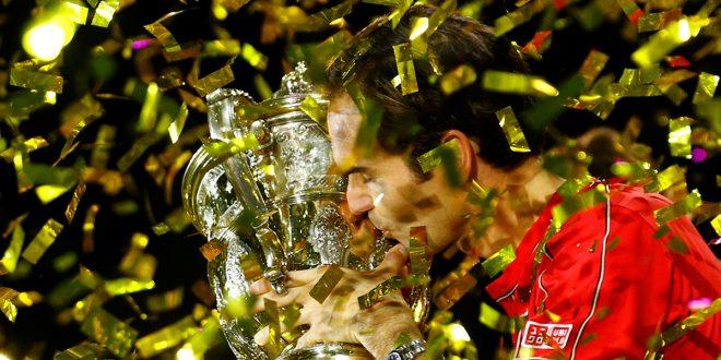 Roger Federer logró su torneo número 103 y se acerca a los 109 de Jimmy Connors