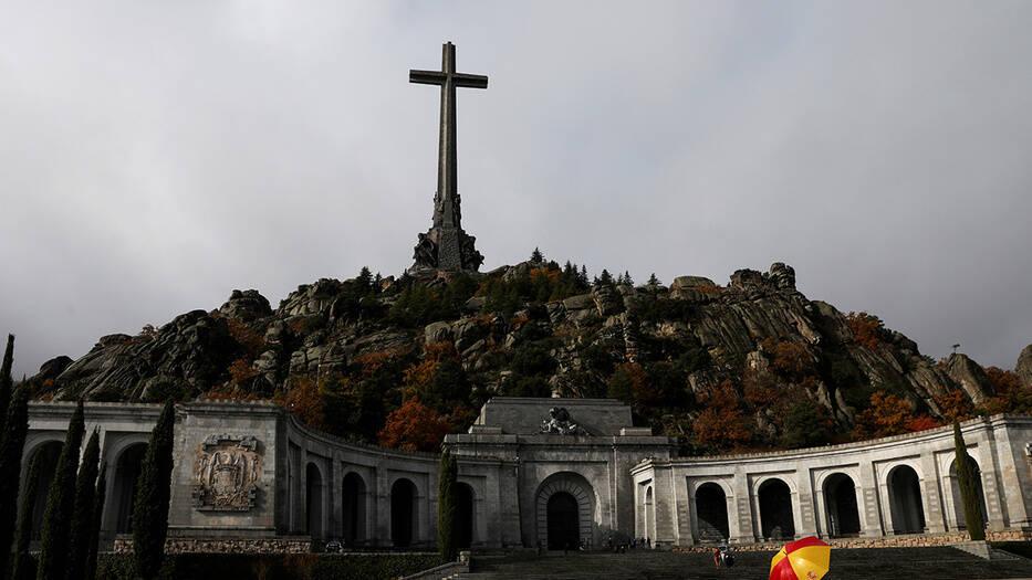 La tumba de Francisco Franco, en el Valle de los Caídos