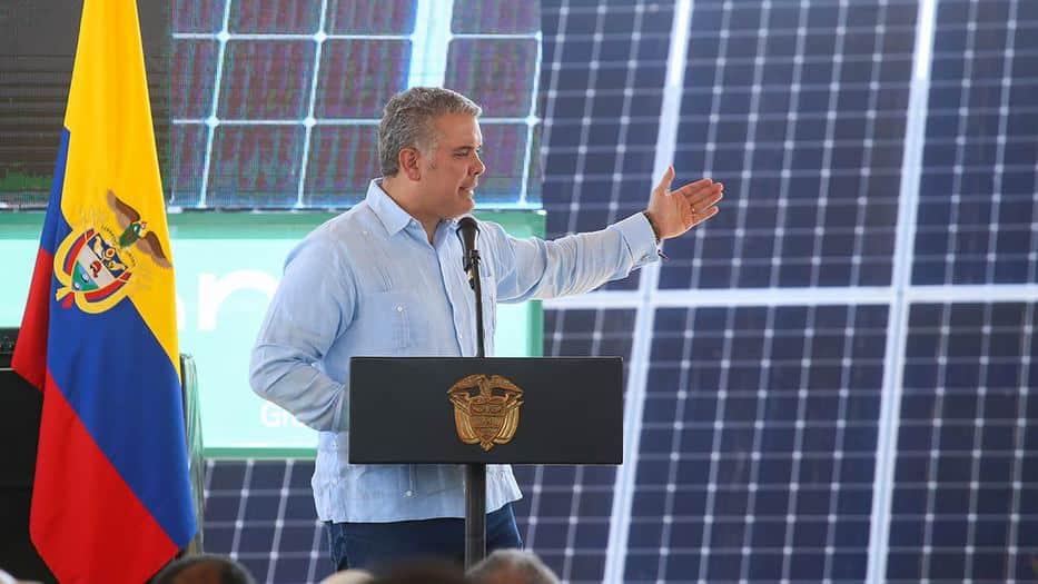 Con el desarrollo de fuentes de energía renovable, el gobierno colombiano de Iván Duque se propone igualmente reducir la huella de carbono y proteger el medio ambiente/MinEnergia/archivo