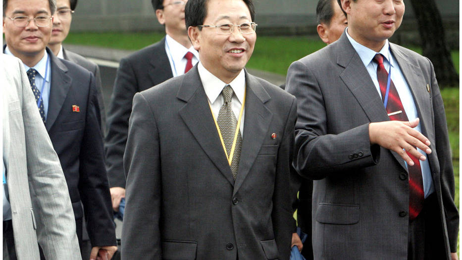 El delegado de Corea del Norte, Kim Myong-Gil, anunció el fin de las negociaciones con EEUU, sobre un acuerdo nuclear