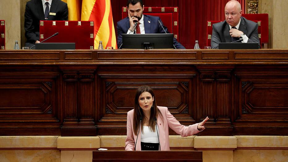 Lorena Roldán, portavoz de Ciudadanos