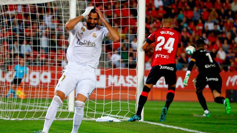 El Madrid desperdició múltiples ocasiones de gol.