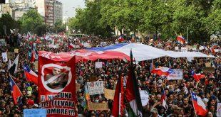 Marcha Santiago de Chile