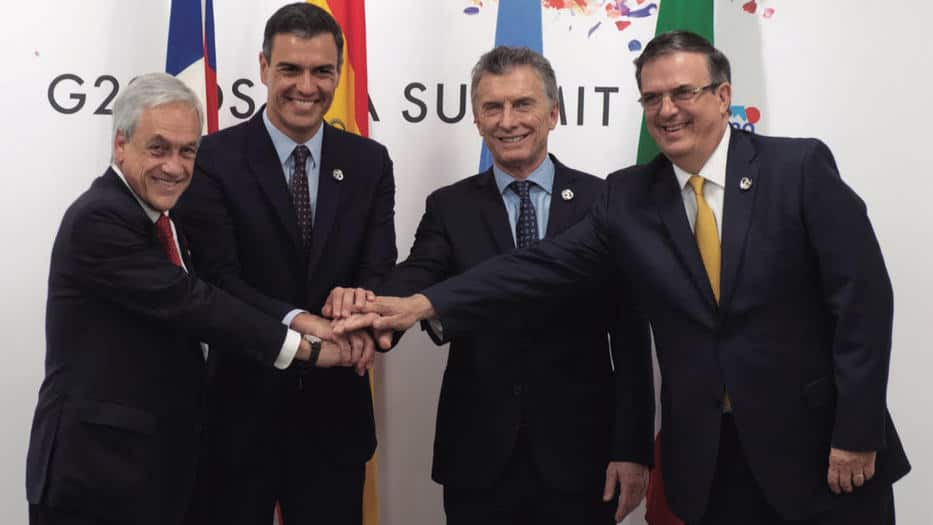 Presidentes de España y países del Mercosur celebraron el Acuerdo que fortalecería el comercio entre dos bloques