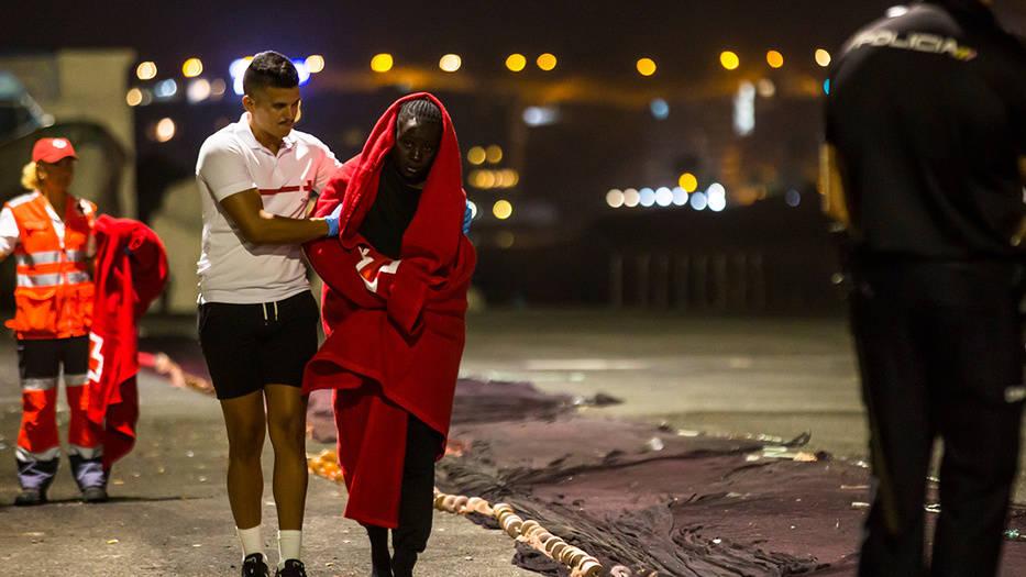 300 migrantes llegan a las costas de Gran Canarias