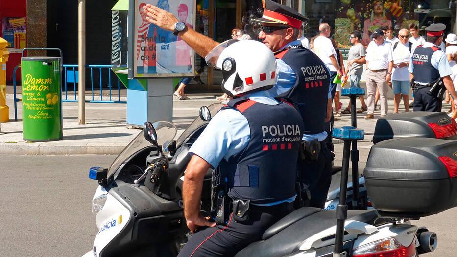 Mossos d'Esquadra, policía de Cataluña/Pixabay