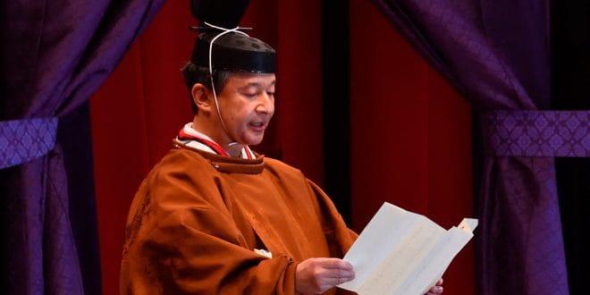 Naruhito asume el trono de Japón ante 2.500 invitados de todo el mundo