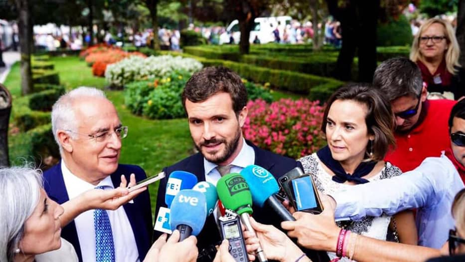 Pablo Casado, presidente del Partido Popular/Facebook Pablo Casado