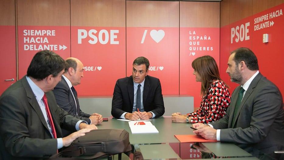 Pedro Sánchez, presidente en funciones de España/Facebook Pedro Sánchez