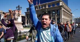Las protestas por justas demandas sociales son tomadas por grupos anárquicos internacionales, para aumentar la conflictividad en la región