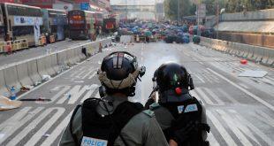 Miles de manifestantes en Hong Kong se lanzaron a las calles para pedir democracia, en el Día Nacional de China