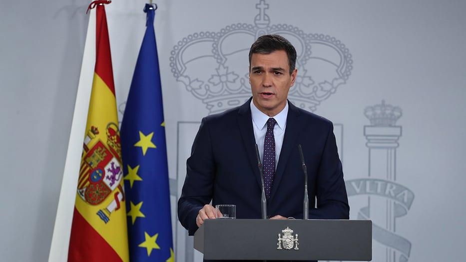 Pedro Sánchez, presidente en funciones de España