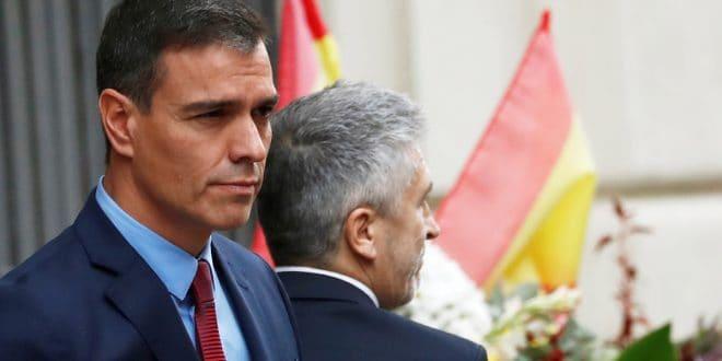 """Sánchez: """"Quien cruce la frontera de la ley se topará con la respuesta firme del estado democrático de derecho"""""""