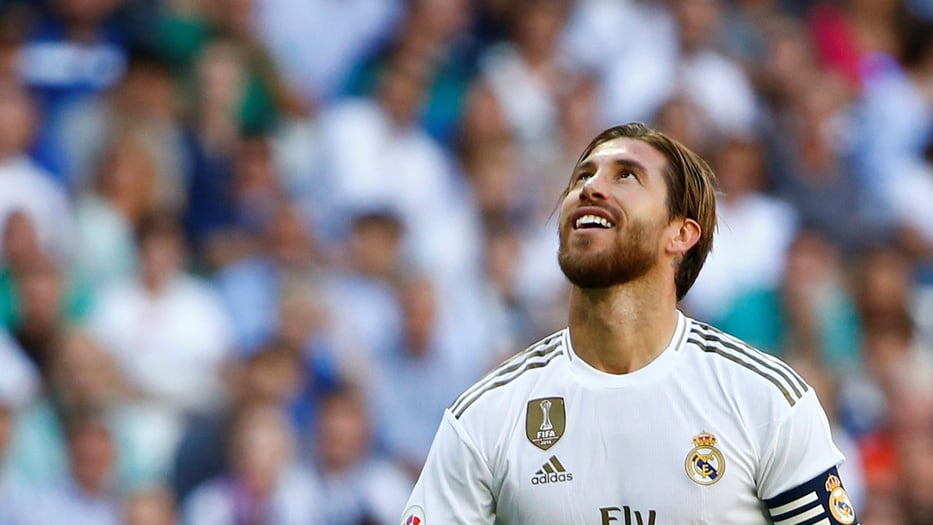 Sergio Ramos, defensor y capitán del Real Madrid