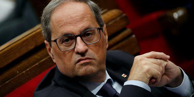 Calvo amenazó a Torra con prisión tras su anuncio de un nuevo referéndum