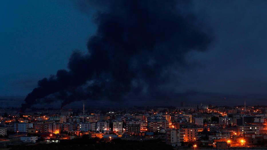 Las fuerzas turcas continúan su ofensiva en Siria.