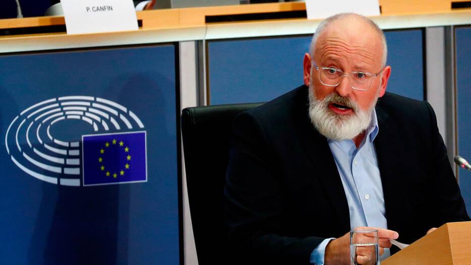 Frans Timmermans está siendo evaluado para ser vicepresidente del área verde de la Comisión Europea.