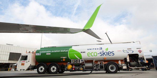United Arilines Eco Skies