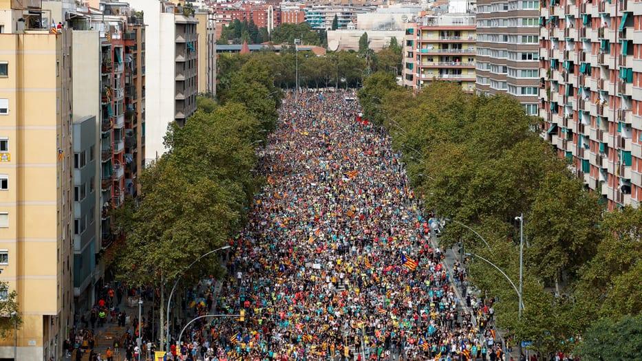 marchas Barcelona
