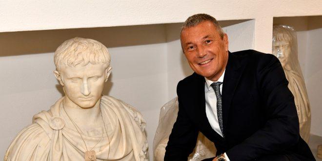 Bulgari restaura piezas de arte antiguo junto a la Fundación Torlonia
